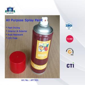 China All Multi Purpose Spray Paint , Colorful Acrylic Spray Paint 400ml on sale