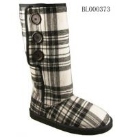 Quality Ladies Fashion Tartan Printed Winter Boots (BL000373) for sale