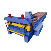 Quality Galvanized Steel Roof Roll Forming Machine 0.3-0.8mm Thickness For Building Material for sale