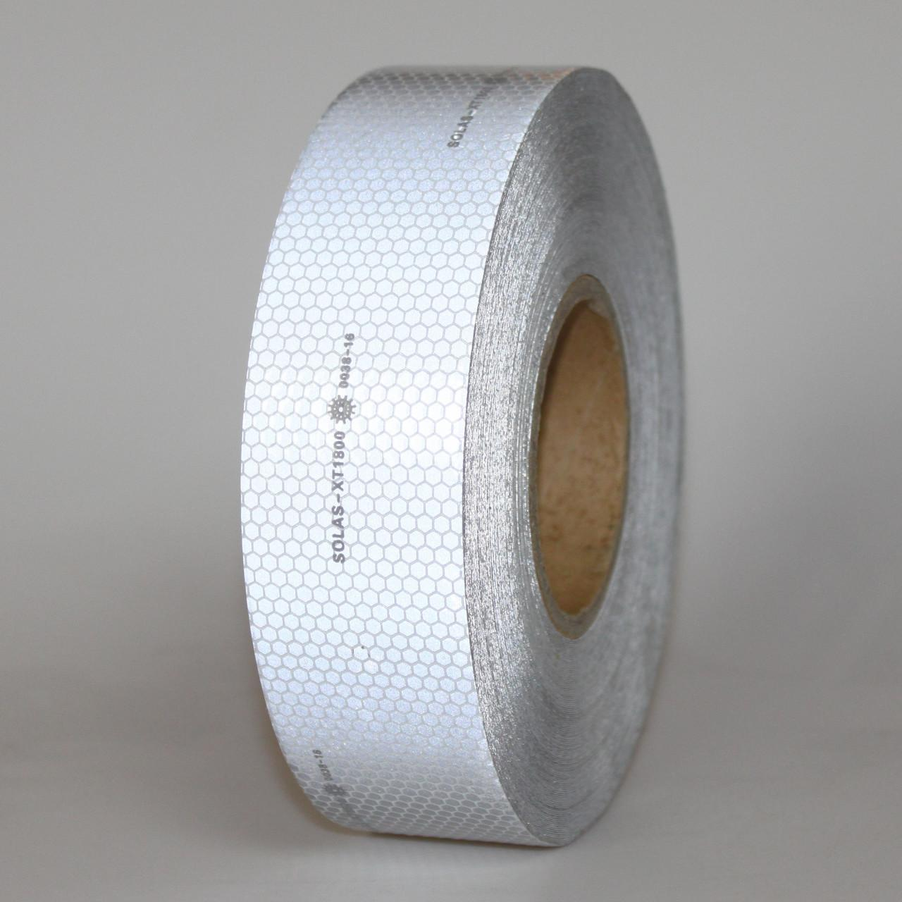 Quality White SOLAS Reflective Tape Marine , High Visibility Clear Reflective Tape  Adhesive Backing for sale