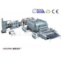 Quality Polypropylene Fiber / Sythetic Leather Machine For Upholstery 2500kg/day for sale
