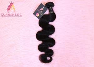Quality Natural Body Wave Double Weft  Malaysian Human Hair for sale