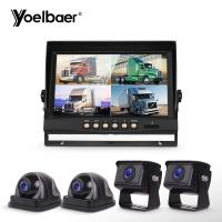 Quality MDVR Hidden Vehicle Reversing Systems CCTV Camera Night Vision LCD Screen for sale
