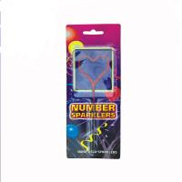 China Safety Heart Shaped Sparklers 7 Inch For Christmas CE Certificated for sale