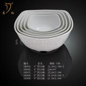 Quality New Style bowl plastic melamine white soup/meal bowl melamine dinnerware plate for sale