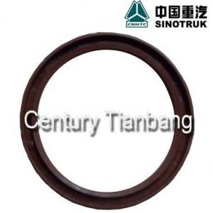 Quality HOWO A7 Dump Truck Parts Crankshaft Rear Oil Seal Ring 61500040047 for sale