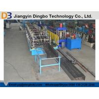 Quality GCr15 Bearing Steel Cable Tray Roll Forming Machine With Hydraulic Cutting System for sale