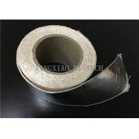 Quality High Temperature Resistant Fireproof High Silica Fabric Tape Aluminum Foil Coated for sale