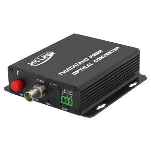 Quality 1 Channel HDTVI/TVI/AHD 1080P Optical Fiber Digital Video Transmitter and Receiver, hdcvi to Fiber Optic Converter for sale