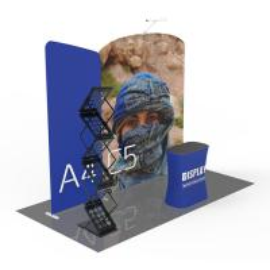 Portable Exhibition Displays , 10x10 Pop Up Trade Show Display Modular Versatile
