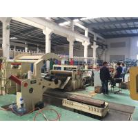 Quality 0.2-2.5MM Steel Sheet Metal Slitting Machine , Coil Cutting Machine High Speed for sale