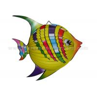 Quality Distinctive Colorful Animal Paper Lanterns / Custom Fish Paper Lanterns for sale
