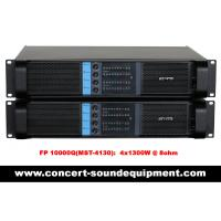 China Switching Amplifier For Live Sound Speaker / 4 Channel High Stability FP 10000Q 4*1300W @ 8ohm on sale