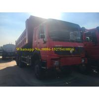 Quality SINOTRUCK HOWO 371hp 6x6 10 wheeler all wheel Drive off road Mining Dump Truck For Rough Terrain Road for sale