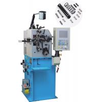 Quality High Speed Belleville Cnc Wire Bending Machine Two Axis Control For Battery Springs for sale