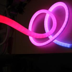 Quality 360 degree addressable rgb led neon flexible strip 18mm dmx control neonflex for sale