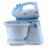 China Hand Mixer with Turning Bowl, Ejector for Releasing Beaters and Hooks on sale