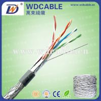 Quality CE,ISO,ROHS Certificate, 4 Pairs Indoor&Outdoor UTP FTP SFTP Cat5e Cable Network for sale