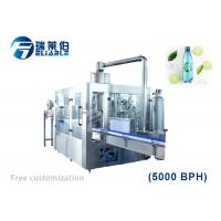 Quality Rotary PET Bottle Carbonated Soda Water Bottling Machine For Small Business for sale