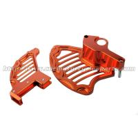 Quality Aging - Resistant Ktm Rear Brake Disc Guard With Hard Anodized Finish for sale