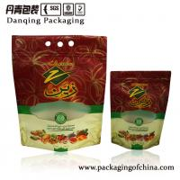 Quality Custom Food Grade Stand Up Zipper Pouches , Nuts Zip Lock Pouches for sale