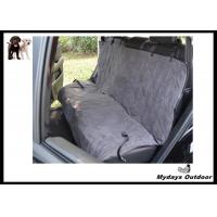 Deluxe machine washable pet car seat covers quilted water resistant 56