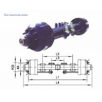 Quality American Type axles Out–board Axle 8T-20T for sale