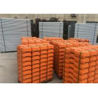 Quality Hot Dipped Galvanized Temporary Fence For Building Sites Weather Resistance for sale