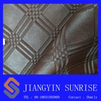 China High Abrasion Pvc Artificial Leather Abrasion Resistant Fake Leather Material on sale