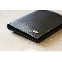 hot selling garnet genuine leather wallet