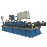Quality Stainless / Carbon Steel Round Pipe Making Machine δ1.0~4.0mm Pipe Thickness for sale