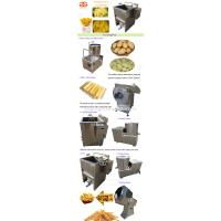 High Quality Plants Automatic Sweet Frozen French Fries Making Producing Line Potato Chips Making Machine Price