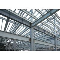 Quality High Strength Pre-fabricated Steel Building Structures for High - Raise Building, Stadiums for sale