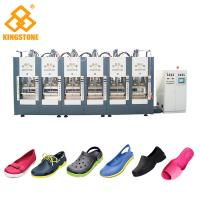 Quality Automatic EVA Slipper Garden Shoes Making Machine with 6 Stations for sale