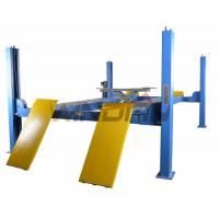Quality Four Ton 4 Post Auto Lift With Second Jack / Hydraulic Lifts For Cars for sale