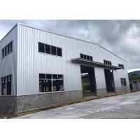 Quality Epoxy Resin Paint Prefabricated Steel Structure Warehouse GB Standard Recyclable for sale