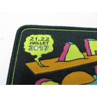 China Decorative Cool Embroidered Motorcycle Patches Colorful Dry Cleanable for sale