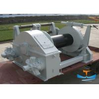 Quality 10t Electric Tugger Winch , Electric Boat Winch With Strap Customized Drum Size for sale