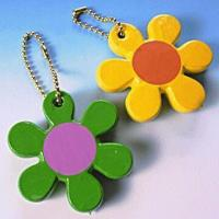 Quality Floating Soft Keychains in Floral Theme for sale
