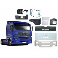 Quality FRP  Truck parts  Front bumper Rear Bumper Bathroom Reflector Dashboard Tire Cover Battery Cover door wall for sale