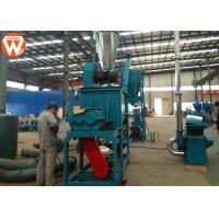 China 1000 Kg/H Poultry Pellet Feed Plant For Chicken Duck Turkey Feed Weight 2200kg on sale