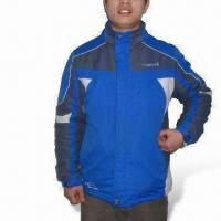 Quality Ski/Winter Jacket with 100% Polyester Lining, Tape Seam, Waterproof and Breathable for sale