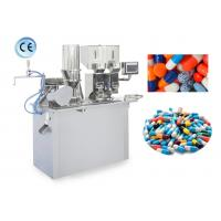 China Semi Automatic Capsule Filler , Capsule Making Machine With High Speed on sale
