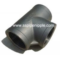 Quality High Strength Stainless Steel Equal Tee Good Ductility Long Working Life for sale