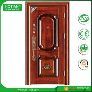 China fire rated metal skin door latest main gate designs steel safe door on sale