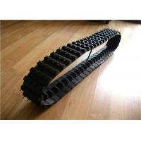 Light and Black Rubber tracks 100*40*50  for Robotic / wheelchair projects