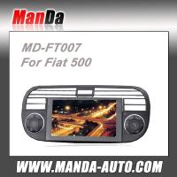 Quality 2 din Car stereo for Fiat 500 With GPS DVD Bluetooth RDS Radio satellite gps navigation for sale