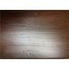 Hand Scraped Laminate Floor Boards , Brown Wooden DIY Floating Floor
