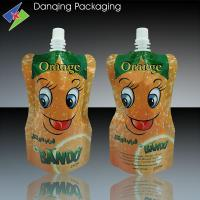 Quality high quality spout standing pouch for juice plastic packaging ,spouted bag for sale