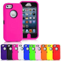 China Heavy Duty Armour Cell Phone Protective Cases For iPhone 5C on sale